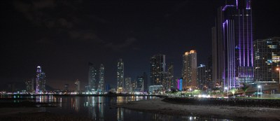 Panama City   Skyline at Night